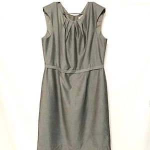 Tahari grey dress classic style size 16